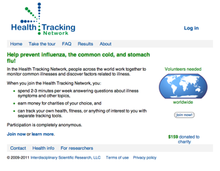Health Tracking Network